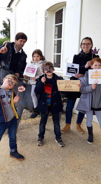 Activités avec les enfants chez Œnanim à Saint-Loubès