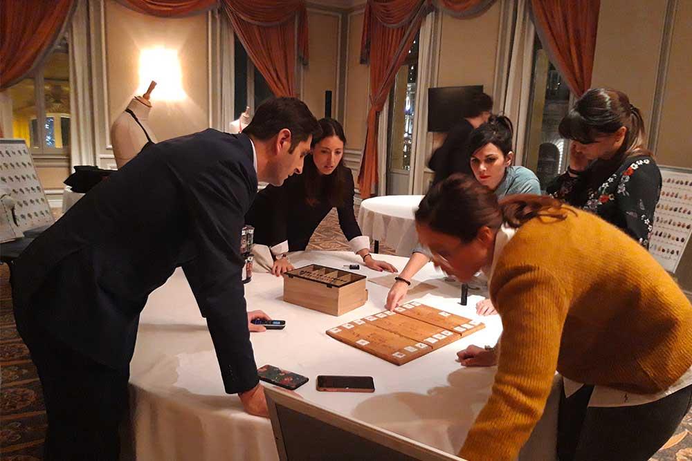 Activité escape wine dinatoire porposé par Oenanim à Bordeaux