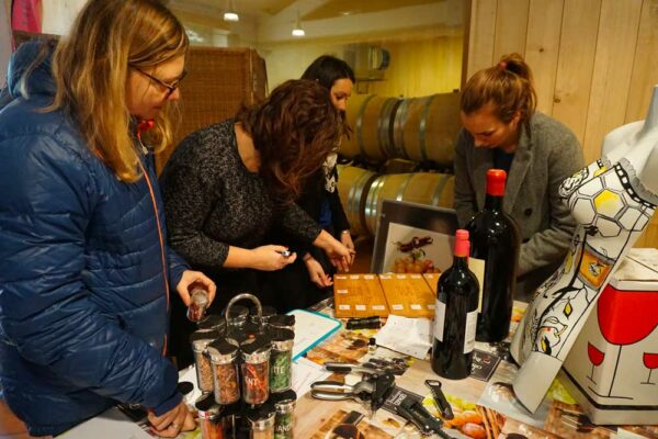 Escape wine par équipe à Bordeaux