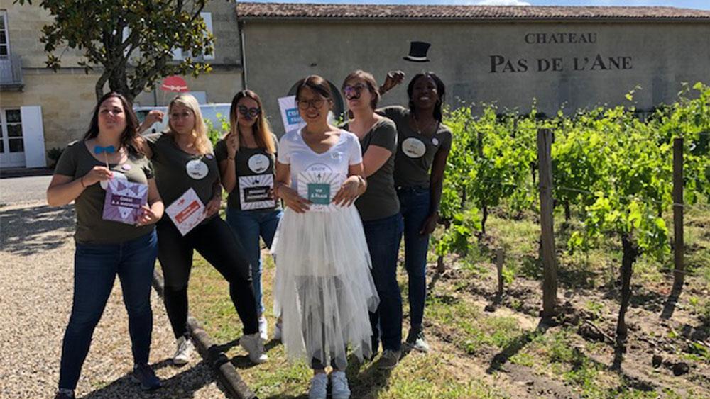 Photo EVJF chez Oenanim à Bordeaux