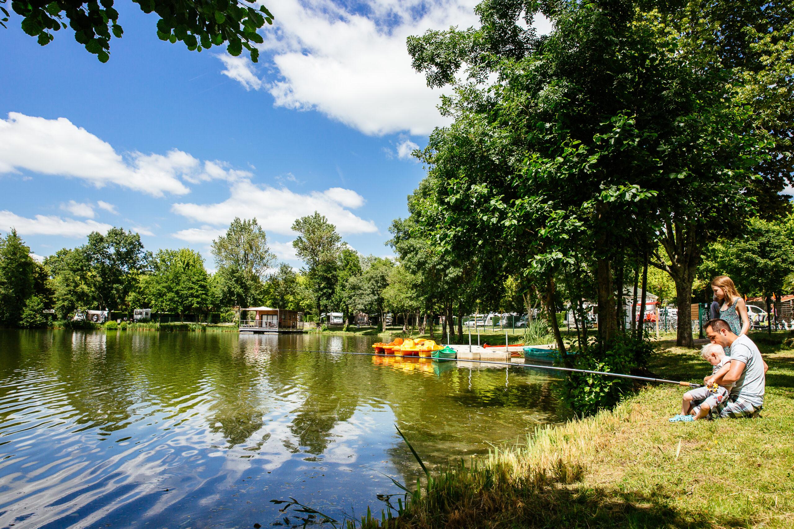 Yelloh saint EMilion - Lac de peche